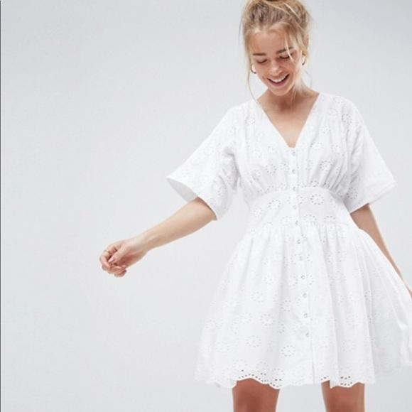 e714dd02c6d72 ASOS Dresses | Design Tea Mini Dress New With Tags Size 10 | Poshmark
